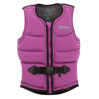 2018 FOLLOW S.P.R LADIES CE VEST Pink LADIES LIFE JACKET - Trojan Wake Ski Snow
