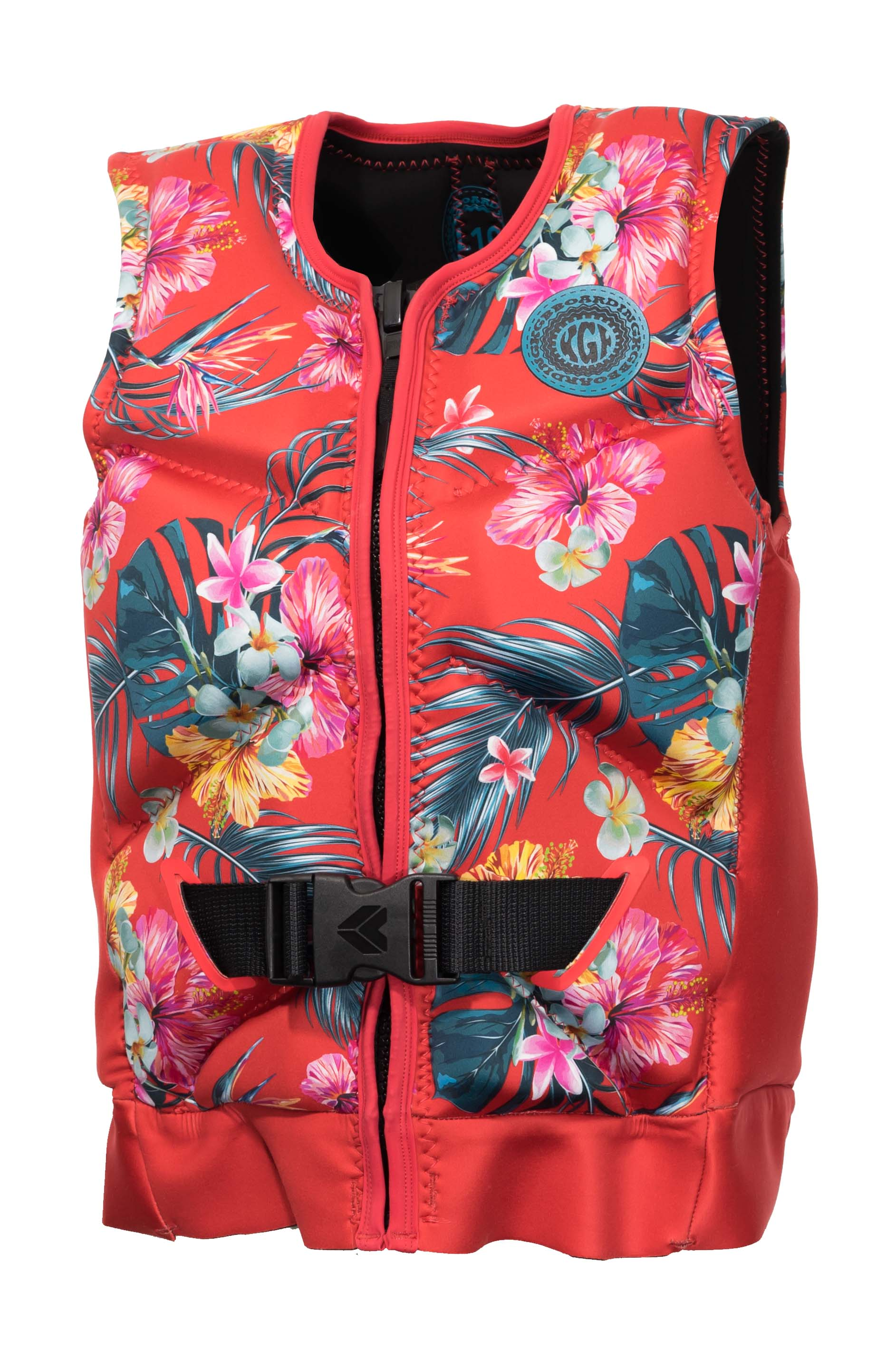 KGB Quest L50S Vest - 2019 Life Jacket - Womens - Trojan Wake Ski Snow