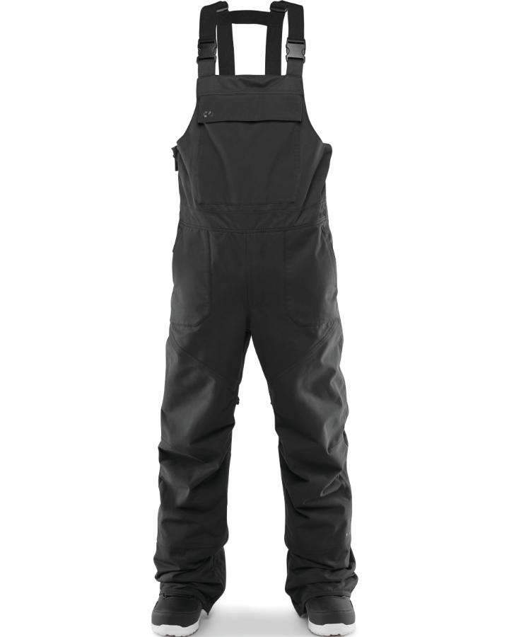 ThirtyTwo Basement Bib - Black - 2020 Snow Bibs - Mens - Trojan Wake Ski Snow