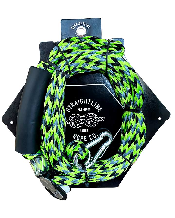 Straightline Outboard Boat Bridle Rope - Green - 2021 Outboard Bridles - Trojan Wake Ski Snow