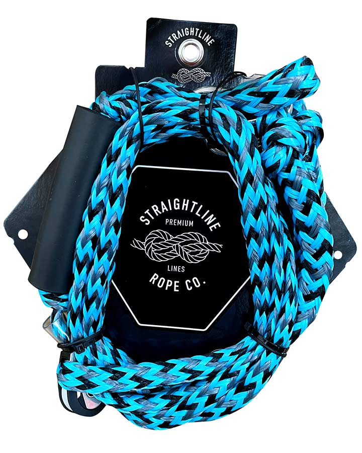 Straightline Outboard Boat Bridle Rope - Blue - 2021 Outboard Bridles - Trojan Wake Ski Snow