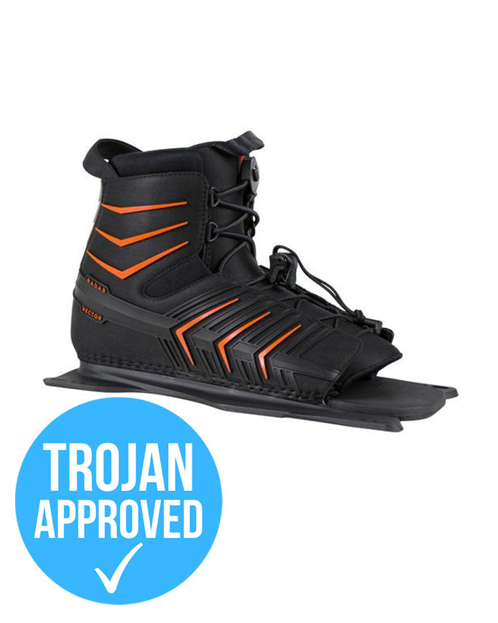 Radar Vector Boot - 2021 Waterski Boots - Men - Trojan Wake Ski Snow