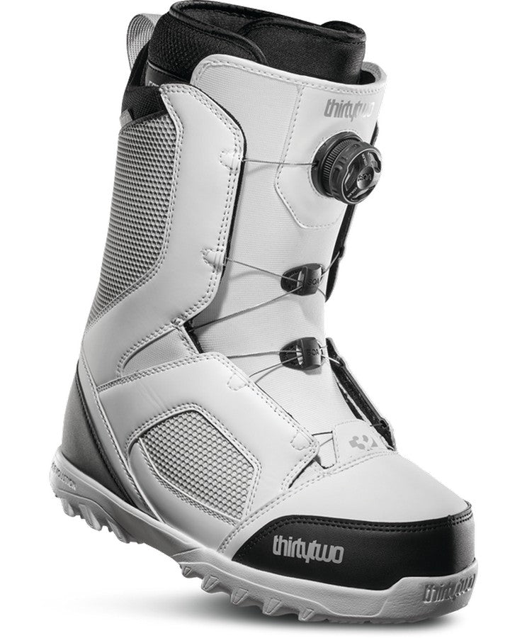 ThirtyTwo STW Boa - White/black/grey - 2020 Snowboard Boots - Men - Trojan Wake Ski Snow