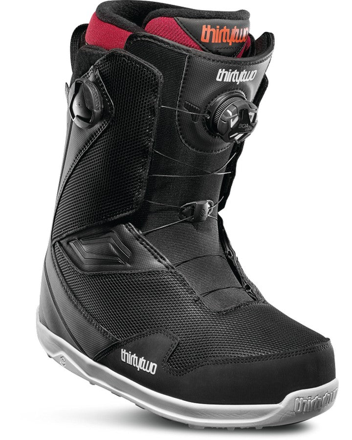 ThirtyTwo Tm-2 Double Boa - Black - 2020 Snowboard Boots - Men - Trojan Wake Ski Snow