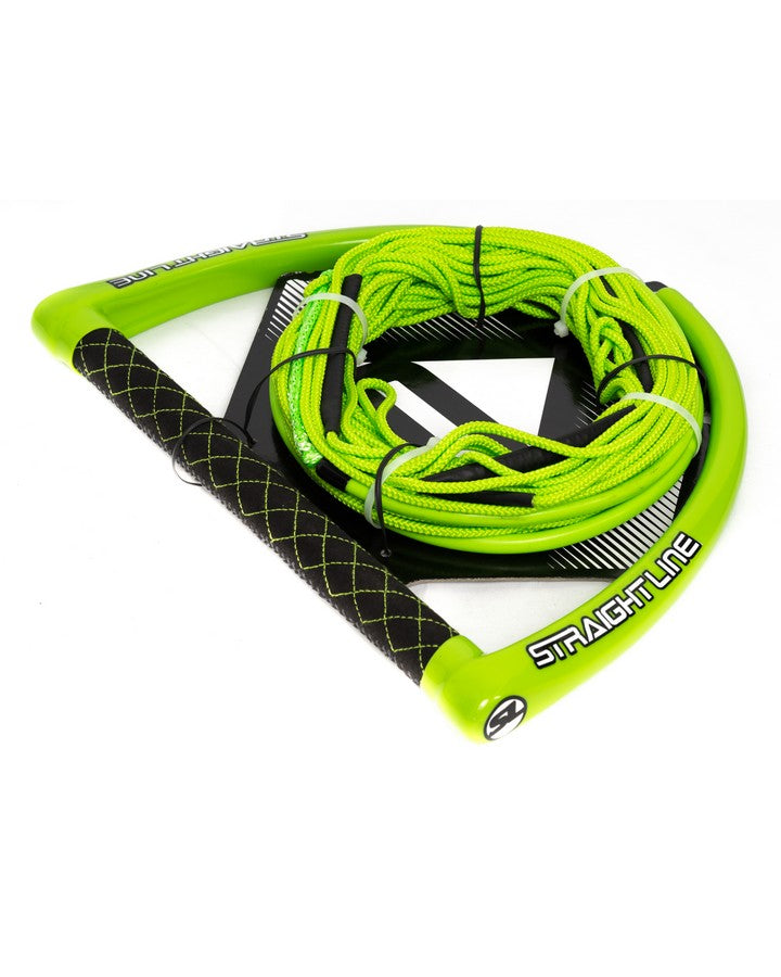 Straightline Apex Package - Green - 2021 Wakeboard Ropes/Handles - Trojan Wake Ski Snow