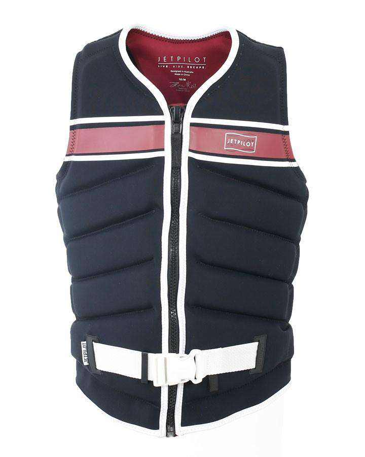 JETPILOT X1 ZAHRA LADIES FE NEO VEST - BLACK - 2020 Life Jacket - Womens - Trojan Wake Ski Snow