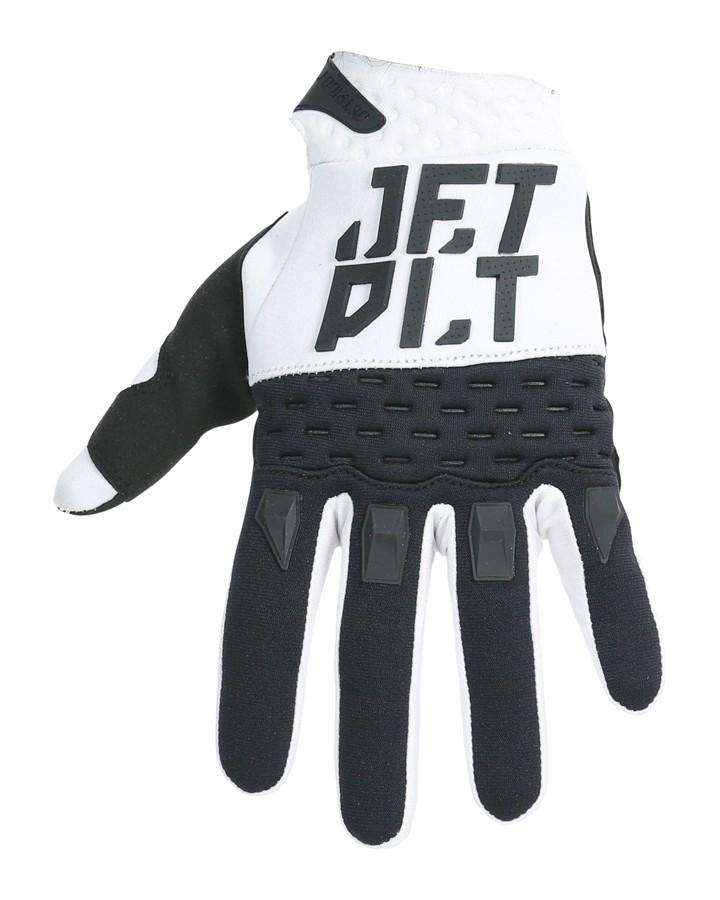 2020 JETPILOT RX RACE GLOVE - WHITE/BLACK-JETSKI GOGGLES-JETPILOT-S-Yellow/Black-Trojan Wake Ski Snow