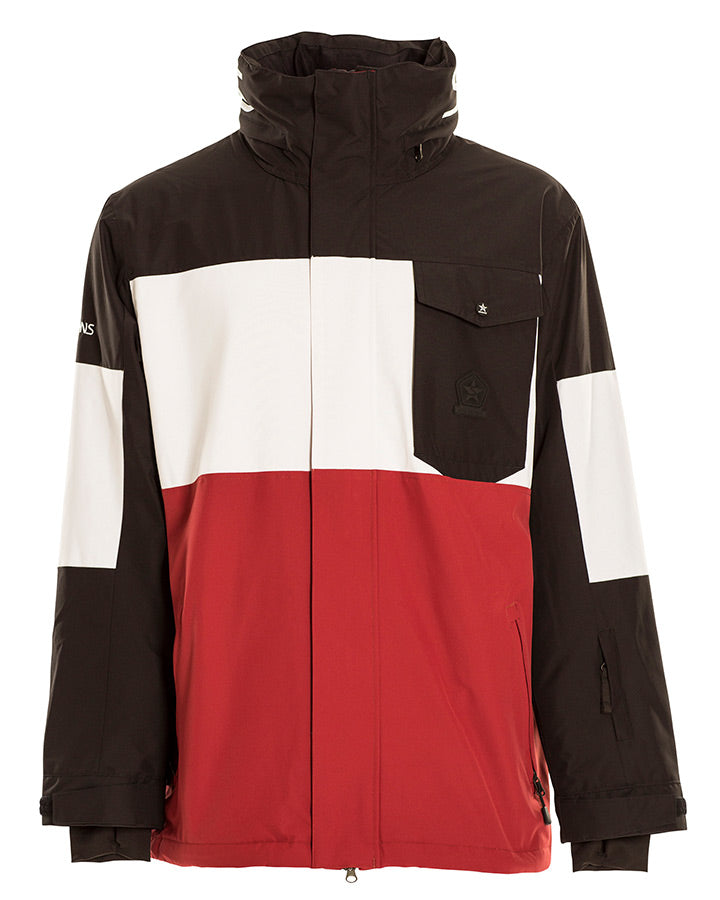 Sessions Mens Annex Jacket - Brick - 2021 Snow Jackets - Mens - Trojan Wake Ski Snow