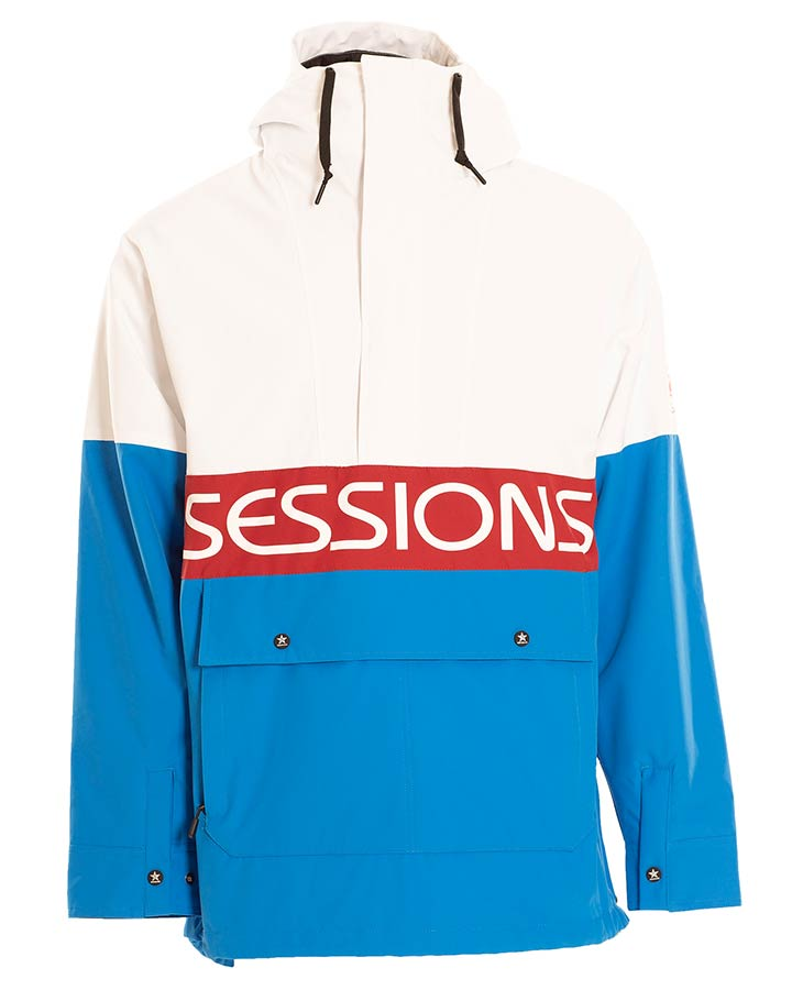 Sessions Mens Chaos Jacket - Blue - 2021 Snow Jackets - Mens - Trojan Wake Ski Snow