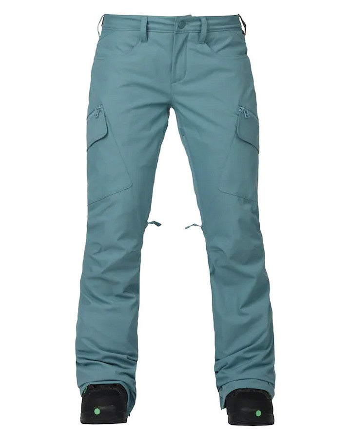 Burton Womens Gloria Pant - Winter Sky Snow Pants - Womens - Trojan Wake Ski Snow