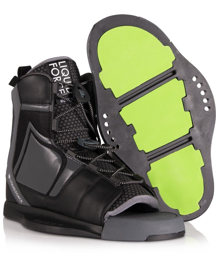Liquid Force Index Binding - 2021 Wakeboard Boots - Men - Trojan Wake Ski Snow