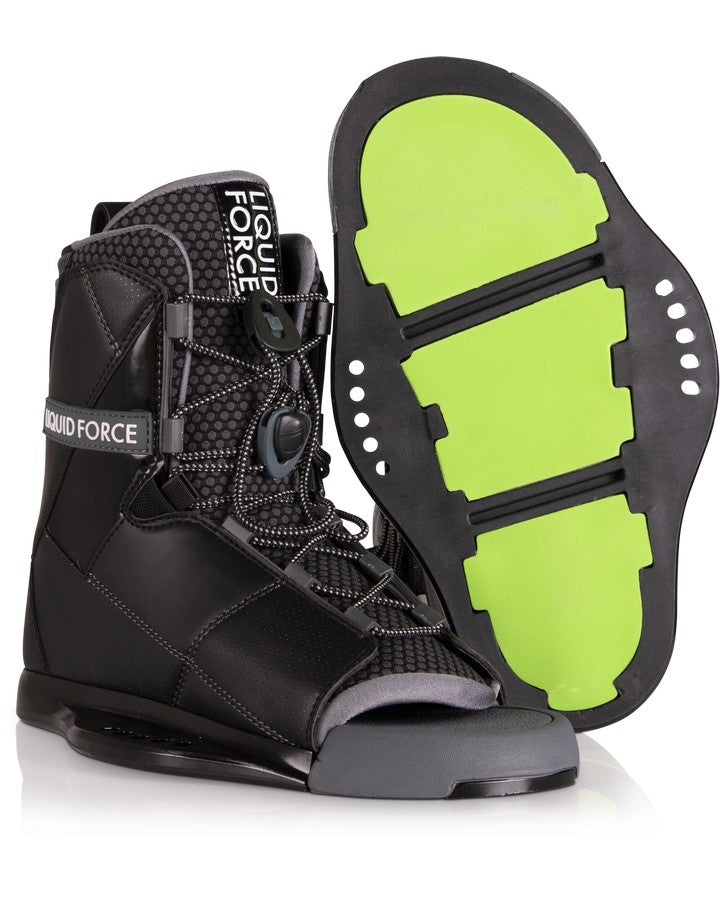 Liquid Force Transit Binding - 2021 Wakeboard Boots - Men - Trojan Wake Ski Snow