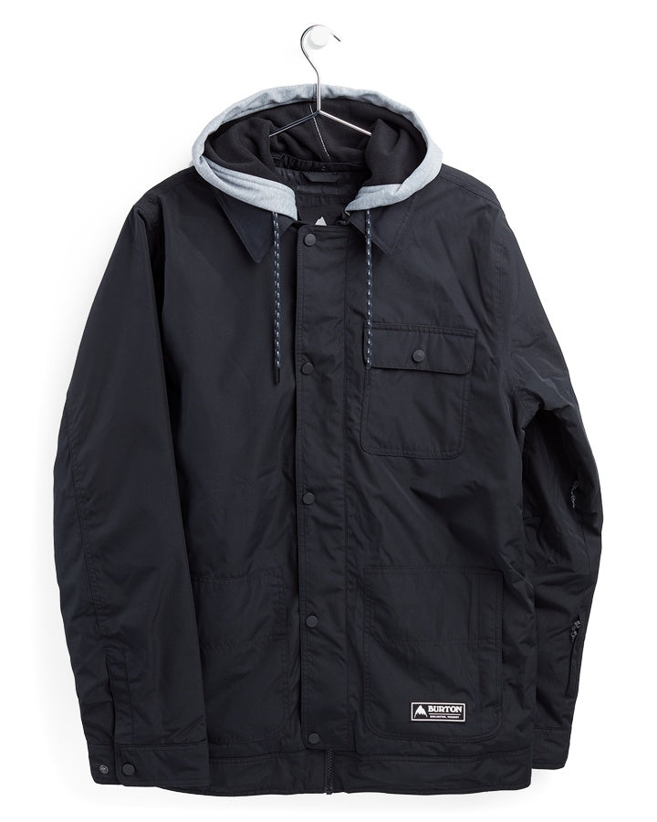 Burton Mens Dunmore Jacket - True Black - 2021 Snow Jackets - Mens - Trojan Wake Ski Snow