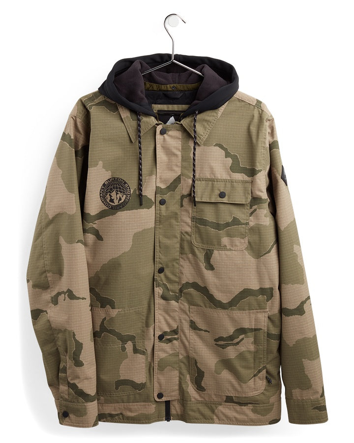 Burton Mens Dunmore Jacket - Barren Camo - 2021 Snow Jackets - Mens - Trojan Wake Ski Snow