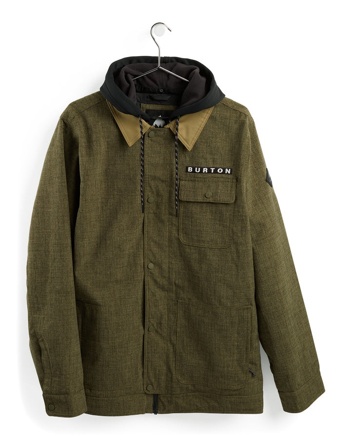 Burton Mens Dunmore Jacket - Keef Heather - 2021 Snow Jackets - Mens - Trojan Wake Ski Snow