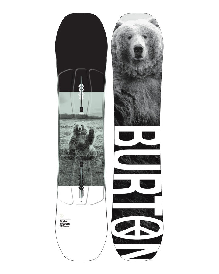 Burton Process Smalls Kids Snowboard - 2021 Snowboards - Youth - Trojan Wake Ski Snow