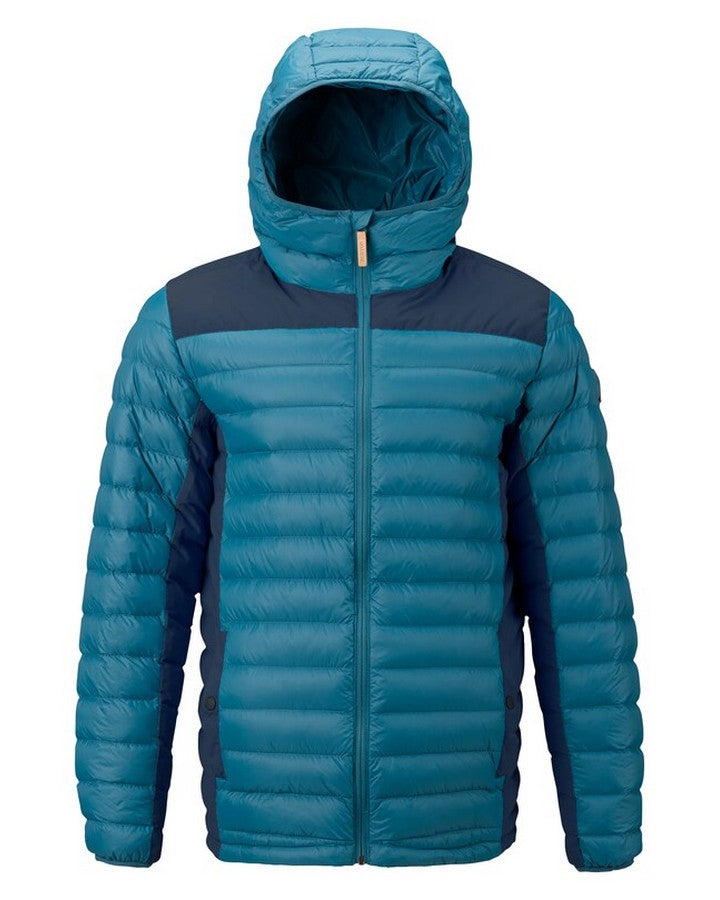 Burton Mens Evergreen Synth Hooded - Mntnr/Modigo Hoodies/Pullovers - Mens - Trojan Wake Ski Snow