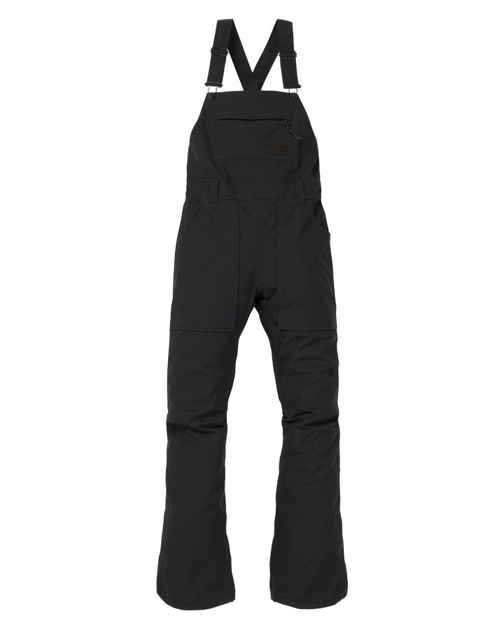 Burton Womens Avalon Bib Pant - True Black - 2021 Snow Bibs - Womens - Trojan Wake Ski Snow