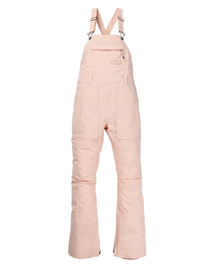 Burton Womens Avalon Bib Pant - Peach Melba - 2021 Snow Bibs - Womens - Trojan Wake Ski Snow