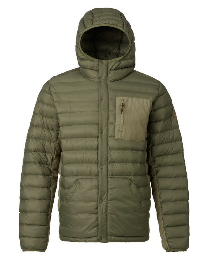 Burton Mens Evergreen Hooded Down Insulated - Dstolv/Ruksak Hoodies/Pullovers - Mens - Trojan Wake Ski Snow