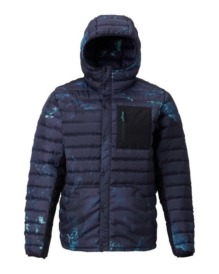 Burton Mens Evergreen Hooded Down Insulated - Nix Olympica Hoodies/Pullovers - Mens - Trojan Wake Ski Snow