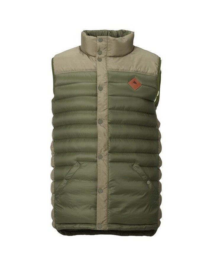 Burton Mens Evergreen Down Vest - Dstolv/Ruksak Hoodies/Pullovers - Mens - Trojan Wake Ski Snow