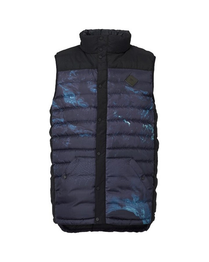 Burton Mens Evergreen Down Vest - Nix Olympica Hoodies/Pullovers - Mens - Trojan Wake Ski Snow