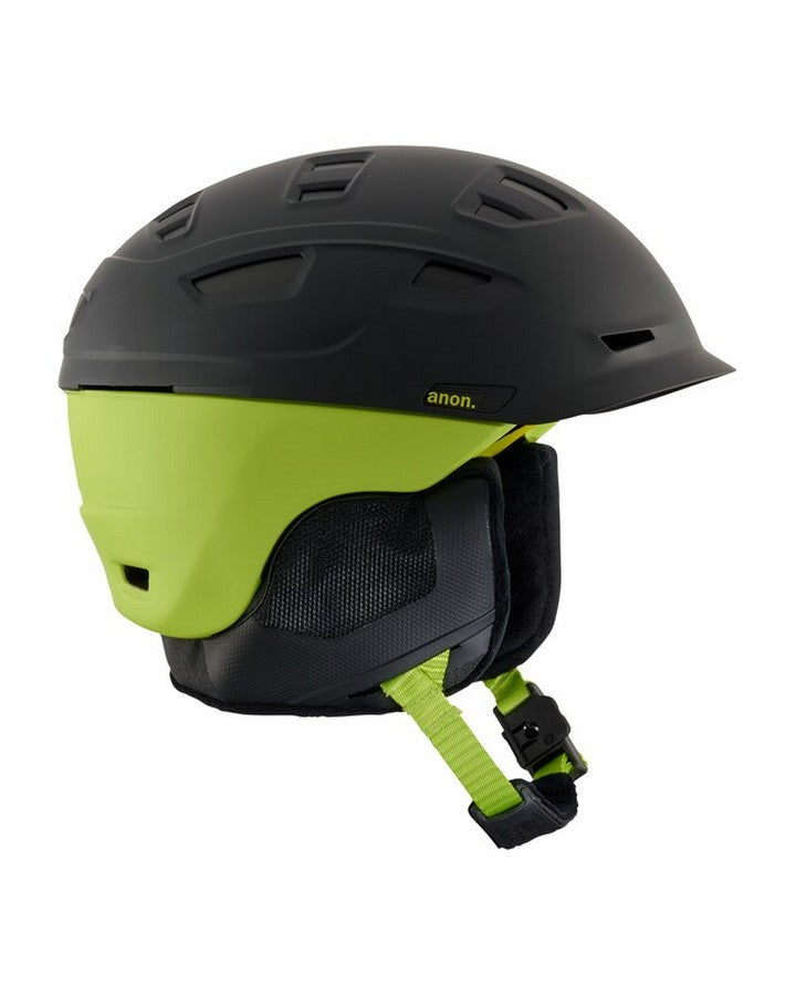 Anon Prime Mips - Cracked Black Snow Helmets - Mens - Trojan Wake Ski Snow