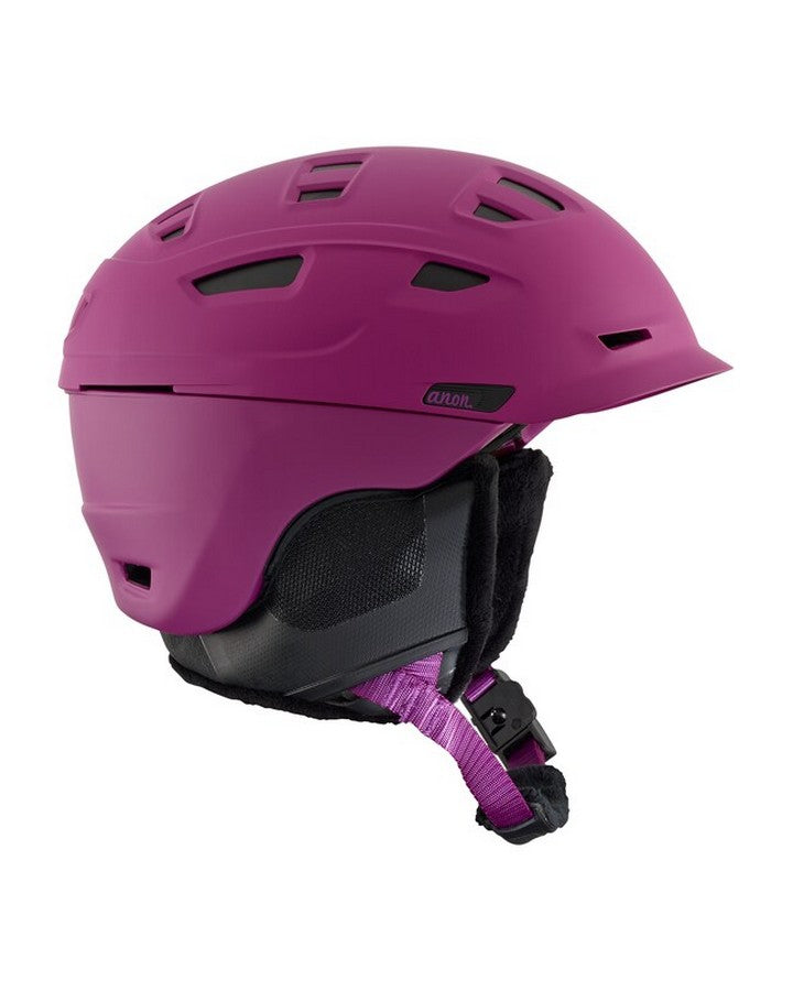Anon Nova Mips - Purple Snow Helmets - Mens - Trojan Wake Ski Snow