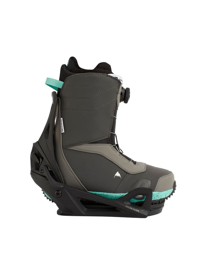 Burton Ruler Step On® Boots with Step On® Bindings - Teal/Black - 2021 Snowboard Boots - Men - Trojan Wake Ski Snow