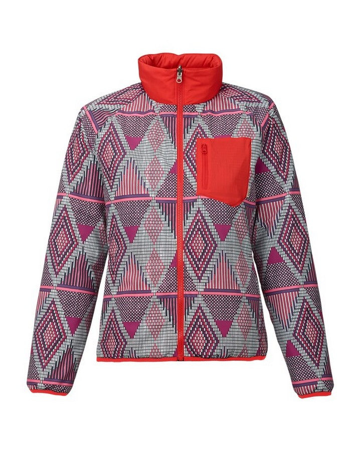 Burton Womens Hella Light Insulated - Anedeg/Coral Hoodies/Pullovers - Women - Trojan Wake Ski Snow