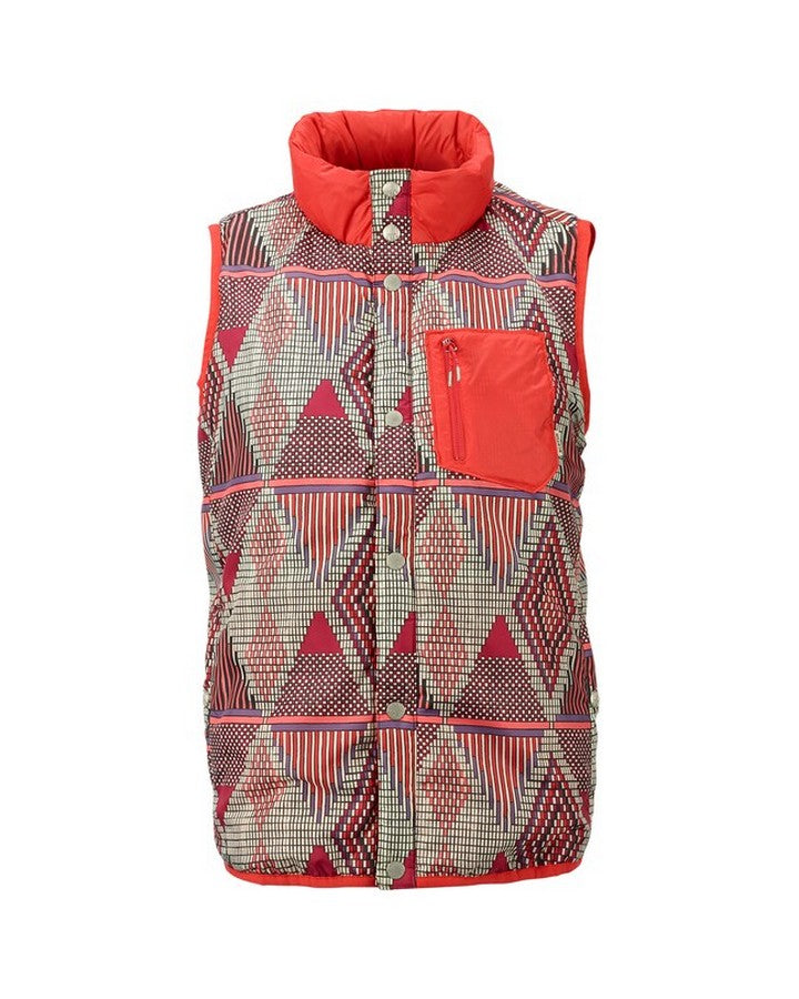 Burton Womens Hella Light Insulated Vest - Anedeg/Coral Hoodies/Pullovers - Women - Trojan Wake Ski Snow
