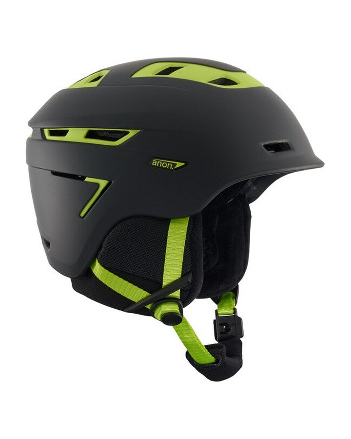 Anon Echo - Cracked Black Snow Helmets - Mens - Trojan Wake Ski Snow