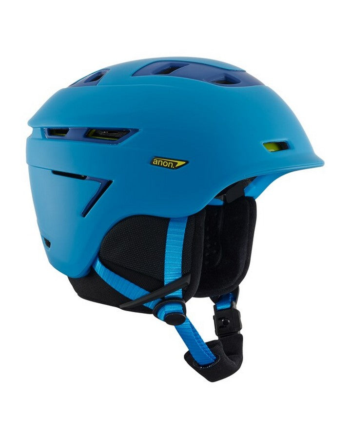 Anon Echo - Blue Snow Helmets - Mens - Trojan Wake Ski Snow