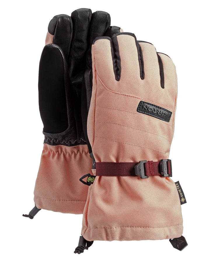 Burton Womens Deluxe GORE-TEX Glove - Peach Melba - 2021 Snow Gloves - Women - Trojan Wake Ski Snow