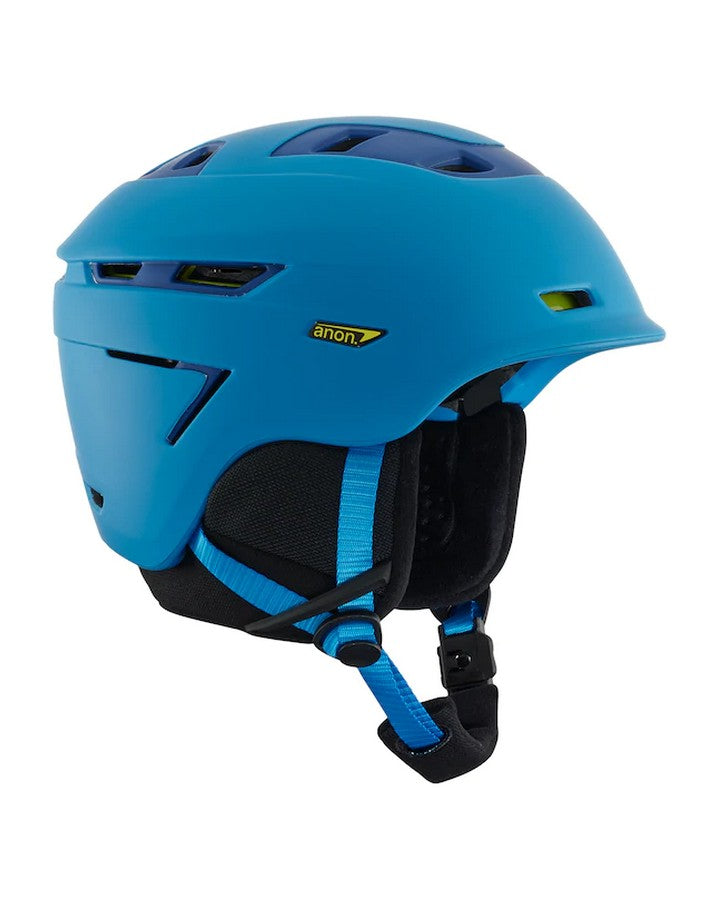 Anon Echo Mips - Blue Snow Helmets - Mens - Trojan Wake Ski Snow