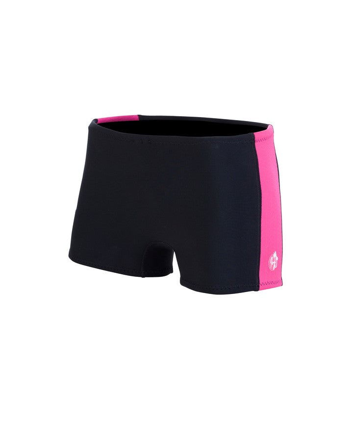 Ivy Shortie - Flamingo Pink - 2021 Wetsuit Shorts - Ladies - Trojan Wake Ski Snow