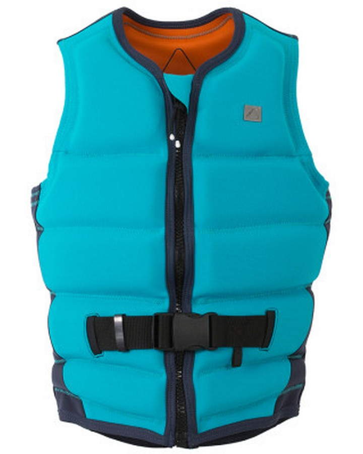 FOLLOW STOW LADIES VEST - Aqua - 2020 Life Jacket - Womens - Trojan Wake Ski Snow
