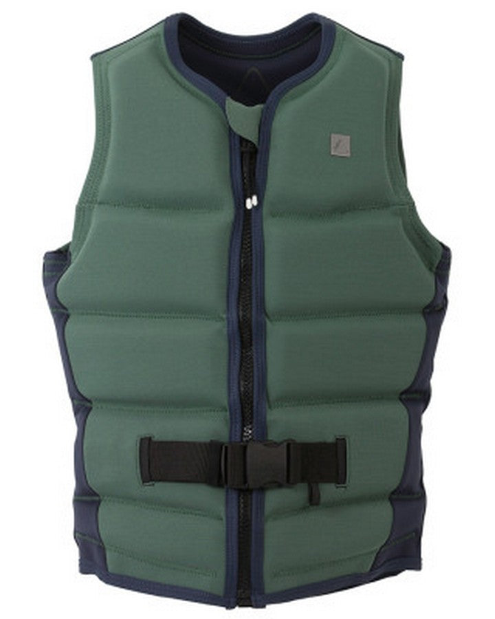 FOLLOW STOW LADIES VEST - Olive - 2020 Life Jacket - Womens - Trojan Wake Ski Snow