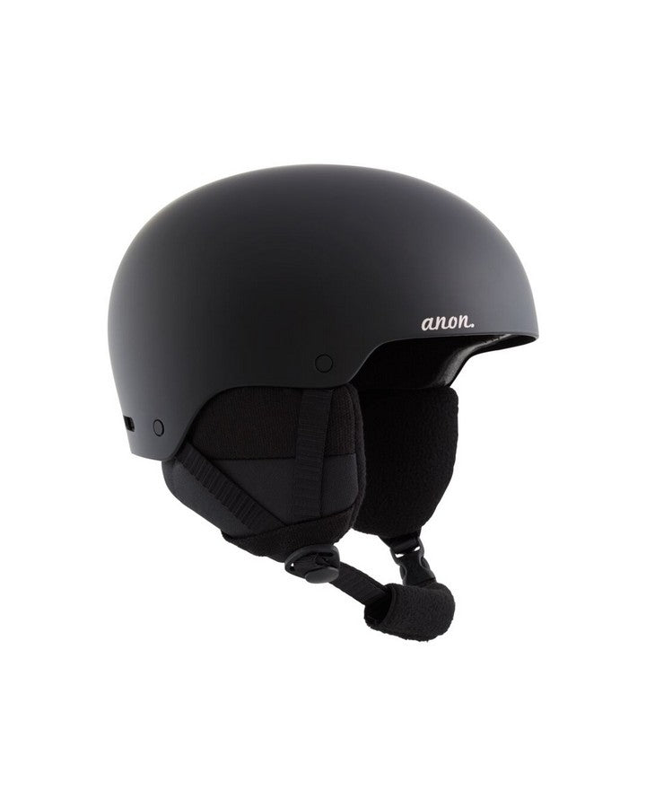 Women's Anon Greta 3 Helmet  - Black - 2020 Snow Helmets - Womens - Trojan Wake Ski Snow