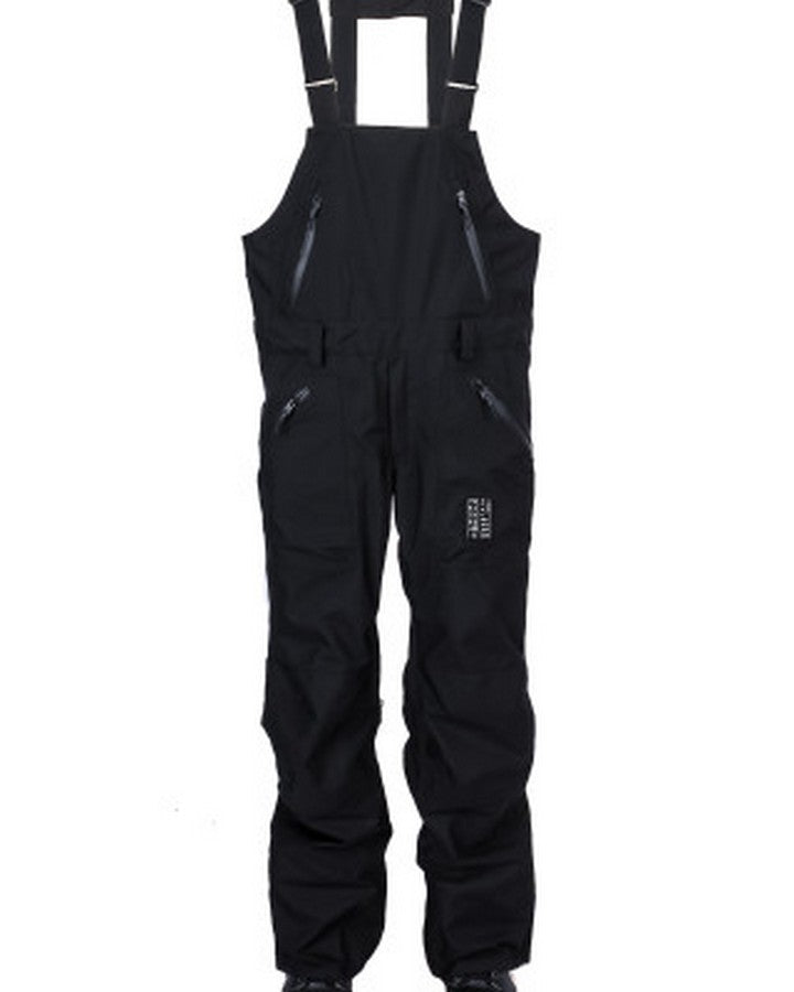 Yuki Threads Northbound Bib & Brace - Black - 2020 Snow Bibs - Mens - Trojan Wake Ski Snow