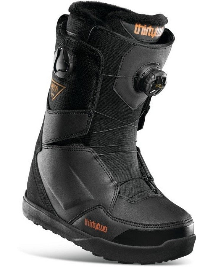 ThirtyTwo Lashed Double BOA Womens Snowboard Boots - Black - 2021 Snowboard Boots - Women - Trojan Wake Ski Snow
