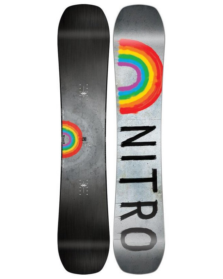 Nitro Optisym Snowboard - 2022 Snowboards - Men - Trojan Wake Ski Snow