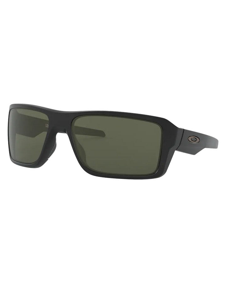 Oakley Double Edge - Matte Black W Dark Grey SUNGLASSES - Trojan Wake Ski Snow
