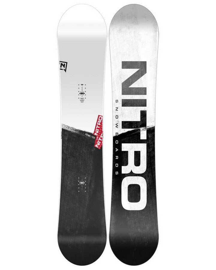 Nitro Prime Raw - 2022 Snowboards - Men - Trojan Wake Ski Snow