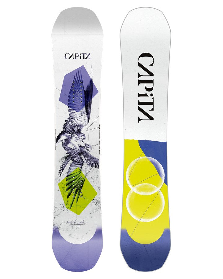 Capita Birds Of A Feather Womens Snowboard - 2022 Snowboards - Women - Trojan Wake Ski Snow