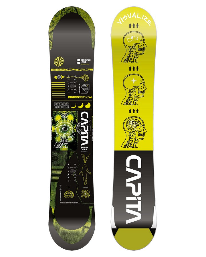 Capita Outerspace Living Mens Snowboard - 2022 Snowboards - Men - Trojan Wake Ski Snow