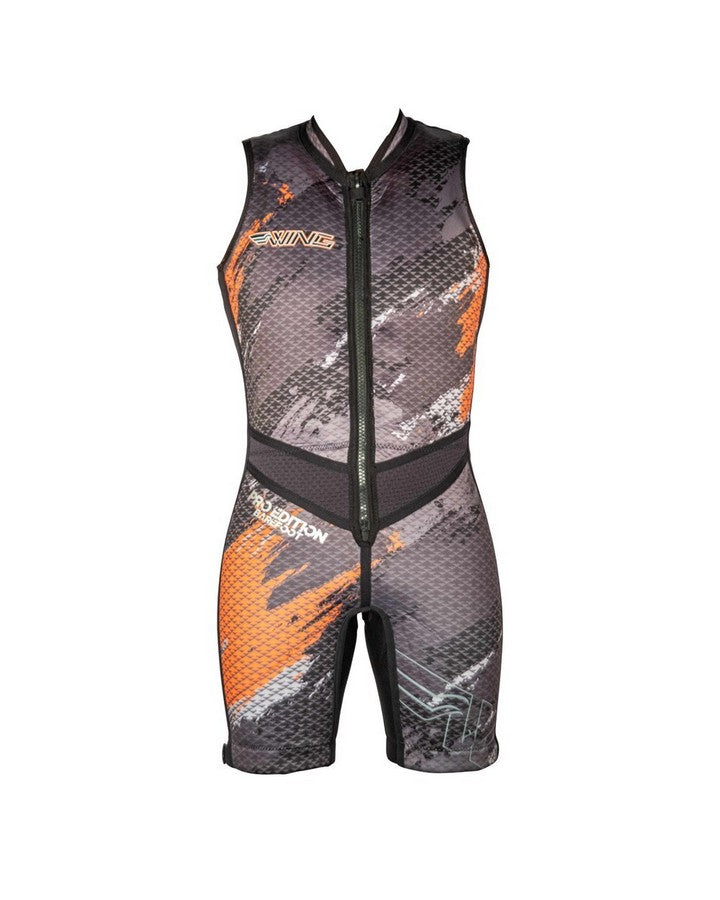 Wing Pro Barefoot Suit - Orange - 2021 Barefoot Suits - Mens - Trojan Wake Ski Snow