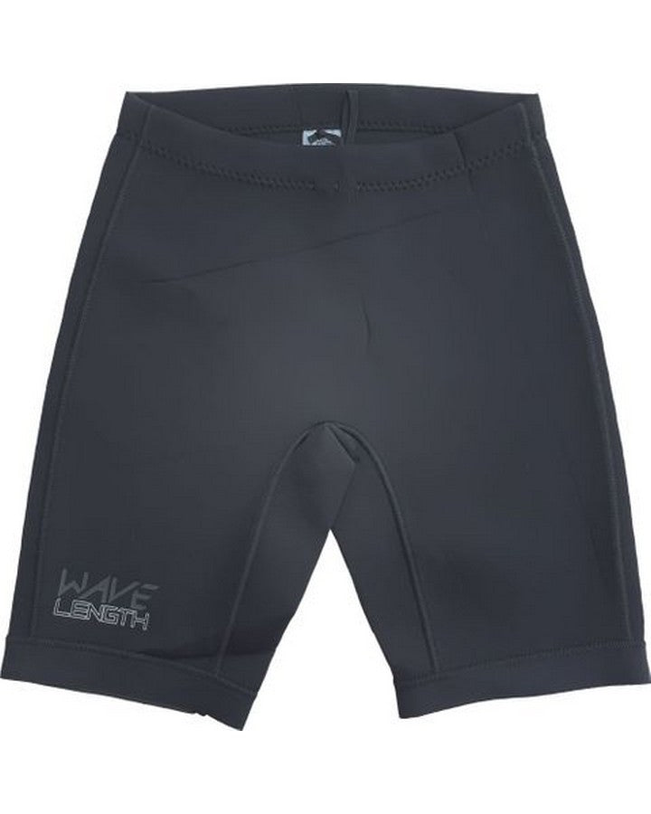 Wavelength Mens Icon Short - Black Wetsuit Shorts - Mens - Trojan Wake Ski Snow