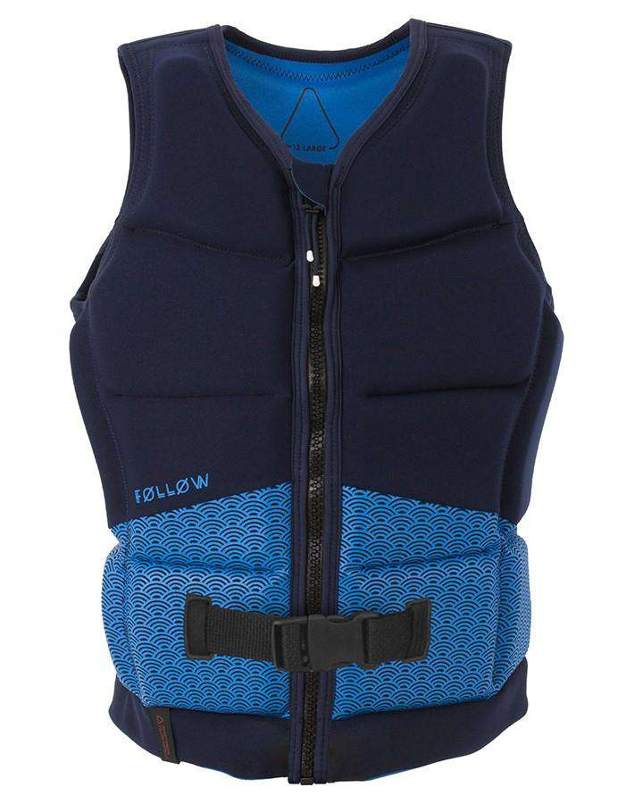 Follow Lace Ladies Jacket - Marine - 2021 Life Jacket - Womens - Trojan Wake Ski Snow